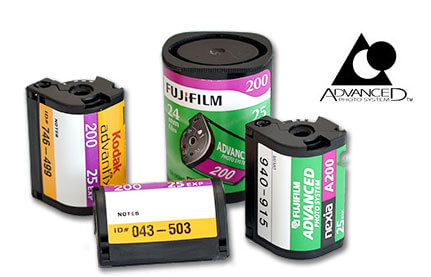 Advanced Photo System (APS) film.
