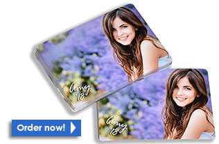 High school senior pictures - wallet size photos